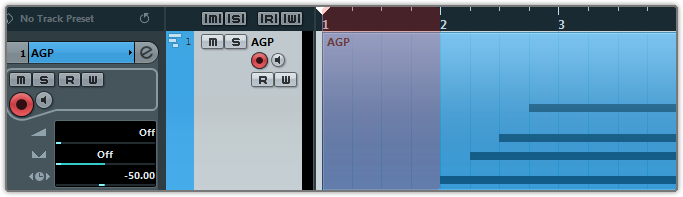 You need to export audio from one bar before the first note